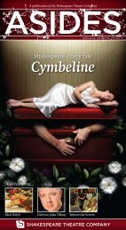 Cymbeline - The Shakespeare Theatre Company