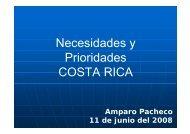 Presentación de Costa Rica - STDF