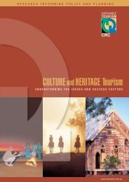 Culture and Heritage Tourism - Sustainable Tourism Online