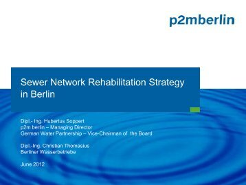 Sewer Network Rehabilitation in Berlin - ACWUA