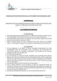 Ordnung zur Durchführung von All Star-Games in - Hessischer ...