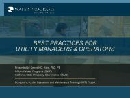 best practices for utility managers & operators - ACWUA