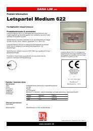 Letspartel Medium 622 - Dana Lim A/S