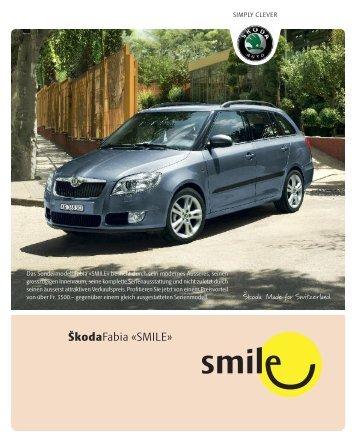 ŠkodaFabia «SMILE» - Sprüngli Druck AG