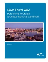 View the concept plans for David Foster Way [PDF - 1.4 MB] - Victoria