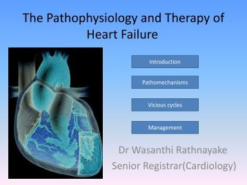 The Pathophysiology and Therapy of Heart Failure