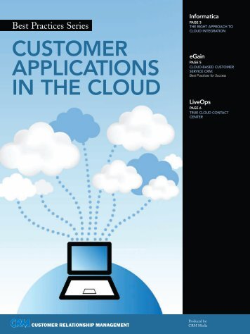 CUSTOMER APPLICATIONS IN THE CLOUD - H+W CONSULT