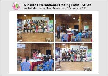 Winalite International Trading India Pvt.Ltd - winalite india home