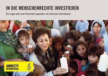 PDF herunterladen - Amnesty International Schweiz