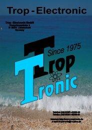 Catalogue - Trop-Electronic GmbH