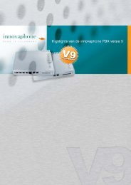 Overzicht van de V9 highlights - Innovaphone
