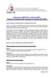 Exportní strategie České republiky pro období 2012-2020 - Asociace ...