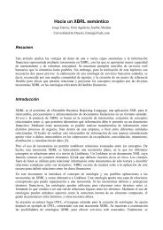 Hacia un XBRL semántico - XBRL España