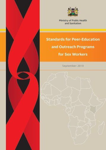 Standards for Peer-Education and Outreach Programs for Sex Workers