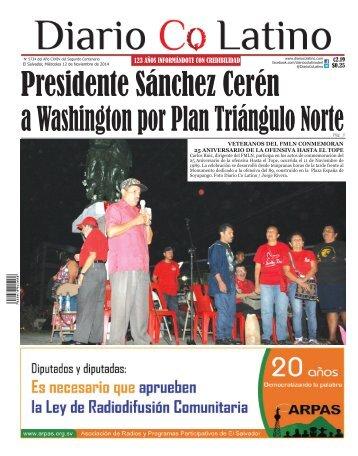 Edición 12 de Noviembre de 2014