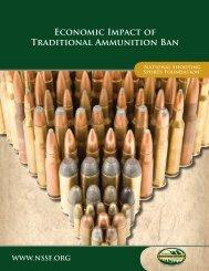 economic Impact of traditional Ammunition Ban - National Shooting ...