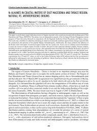 N-ALKANES IN COASTAL WATERS OF EAST MACEDONIA AND ...