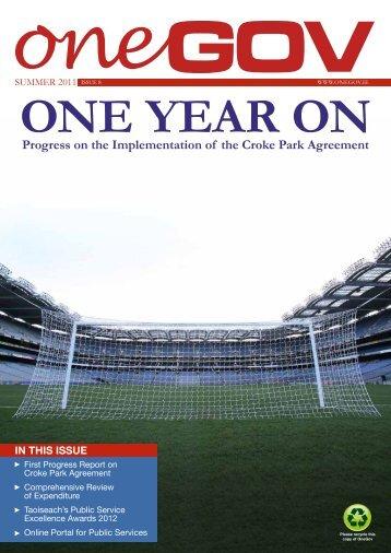 ONEGOV Newsletter – Summer Edition August 2011