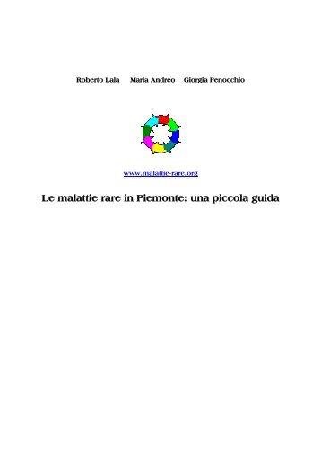 Guida alle Malattie Rare in Piemonte - Medicinadigruppo.it