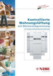 Kontrollierte Wohnungslüftung - Kuhlmann Haustechnik