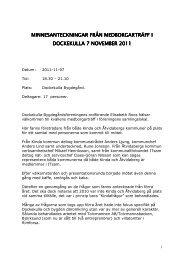 2011-11-07 Dockekulla X - Kinda Kommun