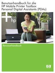 PDAs - Hewlett Packard