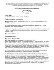 Special Meeting September 25, 2012 7:00 PM Call to ... - Streetsboro