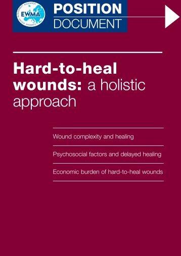 Hard-to-heal wounds - EWMA