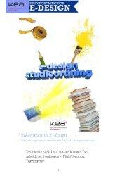 Velkommen til E-design - KEA