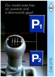 """Download brochure: """"Car lift"""" - ALGI"""
