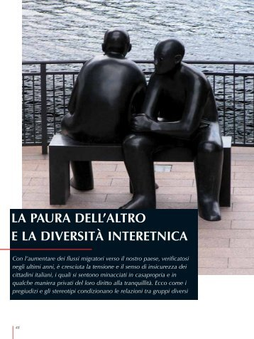 la paura dell'altro e la diversità interetnica - Media Diversity Institute