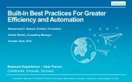 Built-In Best Practices For Greater Efficiency and Automation ...
