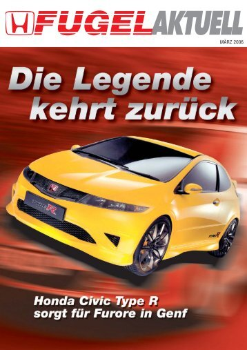 Lay Fugel-Magazin 17 - Honda Fugel