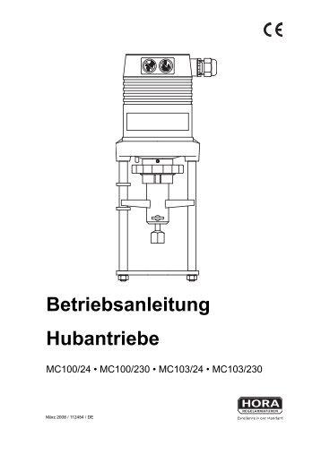 MC100 - HORA