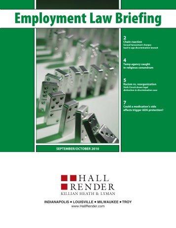 Employment Law Briefing - Hall, Render, Killian, Heath & Lyman