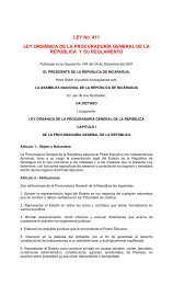 LEY No. 411 LEY ORGÁNICA DE LA ... - Poder Judicial