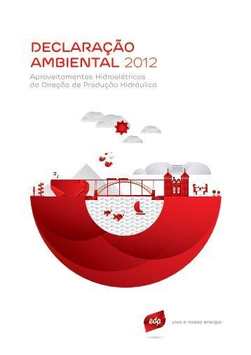 DECLARAÇÃO AMBIENTAL 2012 - edp - viva a nossa energia
