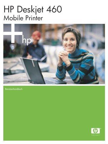 HP Deskjet 460 Mobile Printer - Hewlett Packard