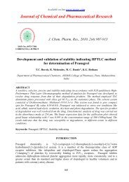 Development and validation of stability indicating HPTLC method