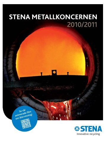 Arsredovisning 1011 (.pdf) - The Stena Metall Group