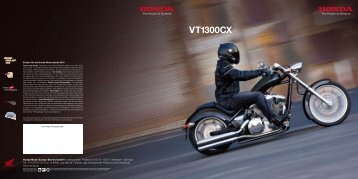 VT1300CX - Honda