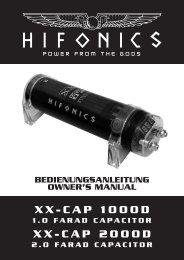 XX-CAP 1000D XX-CAP 2000D - car-hifi-pool