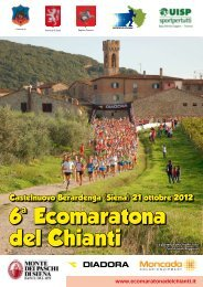 6 Ecomaratona del Chianti - Runners.it