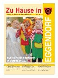Buntes Faschingstreiben in Eggendorf ab Seite 12 - Gemeinde ...