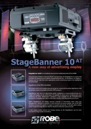 StageBanner 10 AT is a completely new and non-traditional product ...