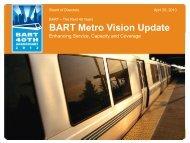 BART Metro Vision Update - TransForm