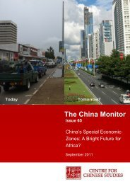 Download Issue 65 of The China Monitor here - The Centre for ...