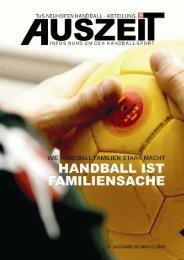 Ausgabe Mai 2009 - Handball TuS Neuhofen
