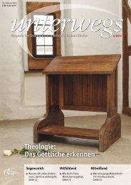 Theologie: Das Göttliche erkennen - blessings4you