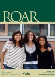 ROAR fall 2011 - St. John's International School